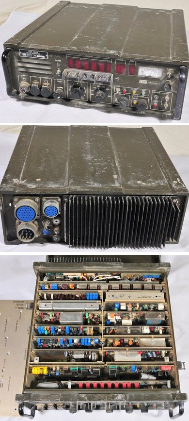 ITT Mackay MSR-8000 Military HF Transceiver. 125 Watts un-tested