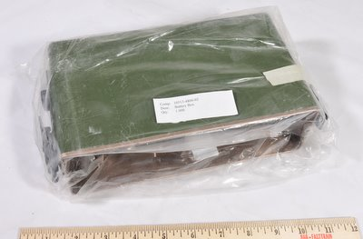 Harris PRC-138, PRC-113, RF-5800, etc battery box un-used 10513-4800-02
