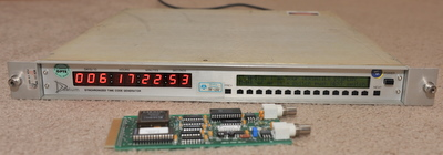 Datum Synchronized time code generator model 9790 with 100ns prop delay card option