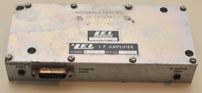 LEL IF Amplifier assembly model 2040 Motorola part # 01-28723A01
