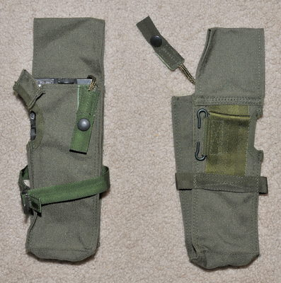 Military Radio pouch for Racal Cougar, PRC-6515, etc. type 4