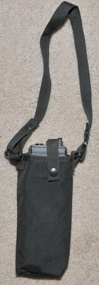 Military Radio pouch for PRC-139 or PRC-127 etc. black type 4