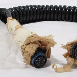 Coiled cable assembly 5995-01-417-3085 new