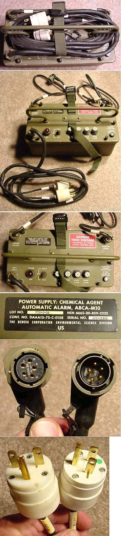Military Chemical Agent Alarm Power Supply