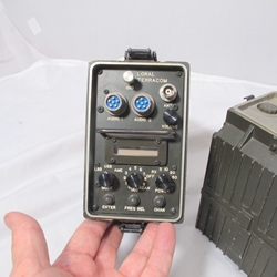 Loral Terracom PRC-132 HF Transceiver with Battery Box