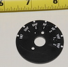 Aircraft Radio dial plate 3308977-11