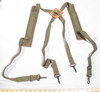 Military radio shoulder strap set un-used