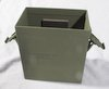Military Aircraft Runway Beacon Battery Box un-used holds BB-2590 0100-10740