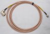 Harris PRC-117F RF X-wing Antenna high angle to VAU (J7) cable 15 feet new N elbow to BNC 11080-3934-A015
