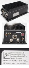 Ball Aerospace SATCOM Amplifier 100W HPA/LNA 225-400MHz part of TACSAT-OTM OS-302/U 5895-01-537-6432