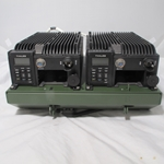 Thales Dual MA7135 LPVA Amplifiers 4102214-502 on mount un-used PRC-148