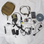 Silynx C4 Ops Full Audio kit with Wireless PTT and many accys Mint