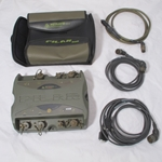 Metravib R.D.S. Diam Gunshot detection system with case, PC cable, microphone cable, and power cable