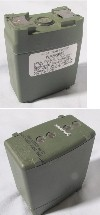 QTY 4 Harris PRC-152 Handheld Lithium Batteries 12041-2100-02 Green, in good condition, ships charged, 14304