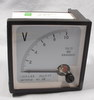 Volt Panel Meter un-used 0-10 3 inch square YS-72