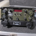 Harris TF-117A MTS Manual Test Station for PRC-117A complete test set with a full TF-117A test fixture