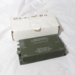 Harris Falcon II PRC-150 HF 25MHz Lowpass Filter 14304-10497-0350-01 Rev. C