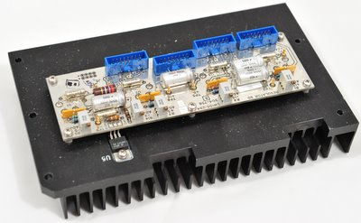 Microdyne Regulator board and heat sink for 1400 MR telemetry receiver