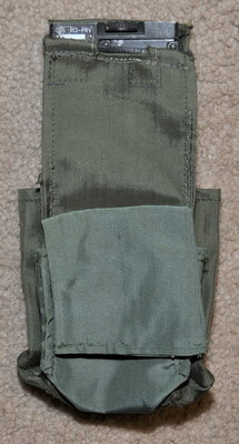 Military Radio pouch for Racal Cougar, PRC-6515, etc. type 3