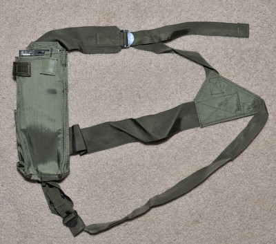 Military Radio chest pouch for Racal Cougar, PRC-6515, etc.