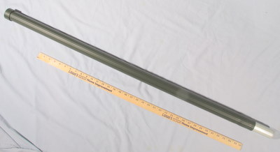 "Antenna Mast Section, un-used Aluminum, Approx 2"" dia, 48"" long 19099-13227E0132-1 MFR-06076"
