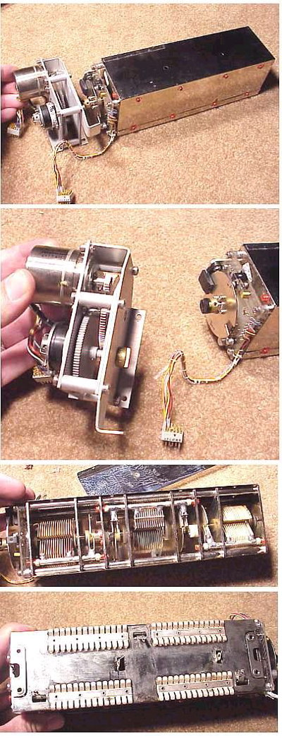 Un-used Antenna Tuner Capacitor and motor drive
