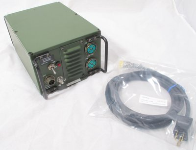 Harris RF-5051-PS001 AC Power supply with power cord for RF-5000 PRC-138 Falcon II Falcon III etc 12045-4001-01 un-used