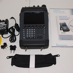 Rohde & Schwarz PR100 9kHz-7.5GHz Portable Monitoring Receiver with Panorama Scan, Polychrome, and Internal Recording Options